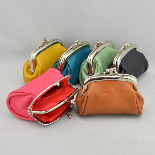 Free shipping!New arrivel 8 candy colors Fashion double layer women's hasp coin purse coin case lipstick bag small bag C3113