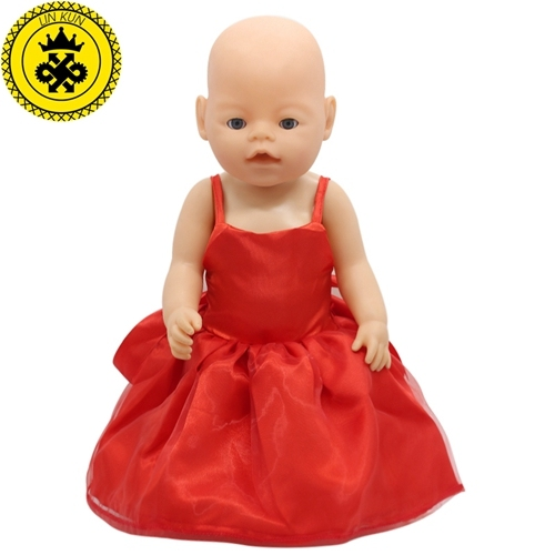 15 Colors Princess Dress Doll Clothes fit 43cm Baby Born Zapf Doll Clothes and Accessories D-20