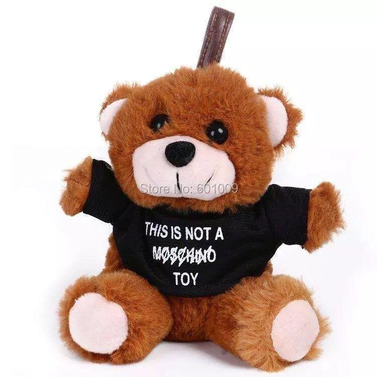 "Free Shipping EMS 100/Lot Teddy Bear 6"" Plush Doll Stuffed Toy(China (Mainland))"