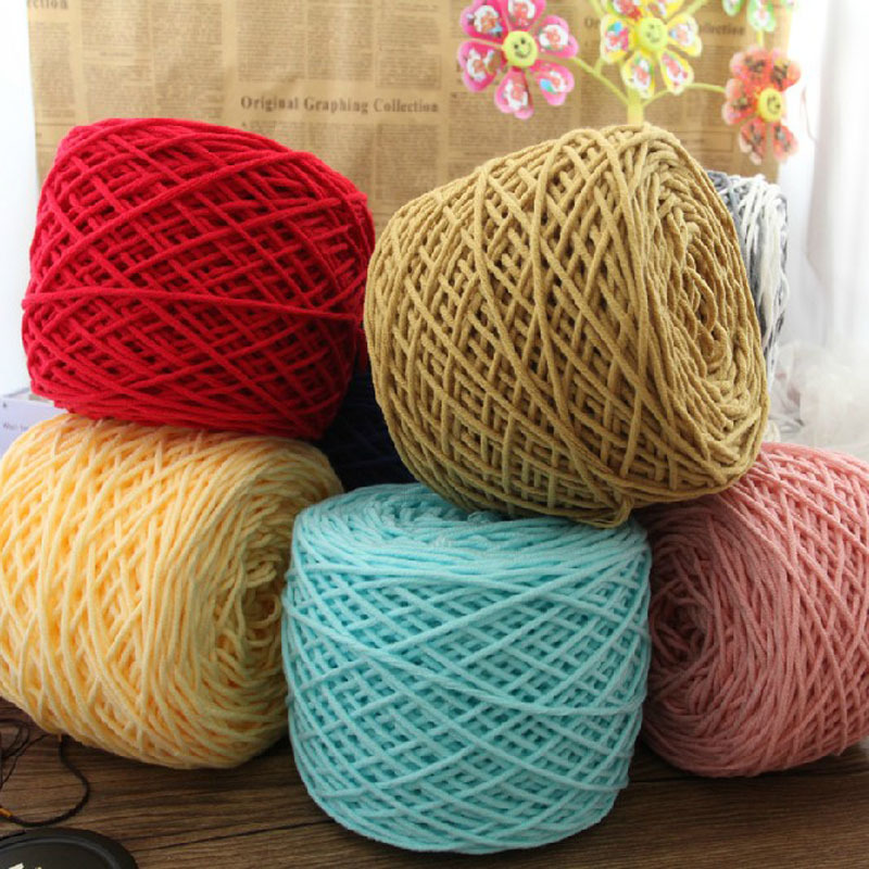 Wholesale,400g/lot Merino Wool Yarn Brand Cotton Knit Thick Yarns for ...