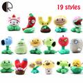 19 Styles 1Pcs Plants vs Zombies Plush Toys 15 20cm PVZ Soft Stuffed Plush Toys Doll
