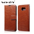 Luxury Retro Leather Case For Samsung Galaxy S6 G9200 Wallet Pouch Bag Full Body Case Cover