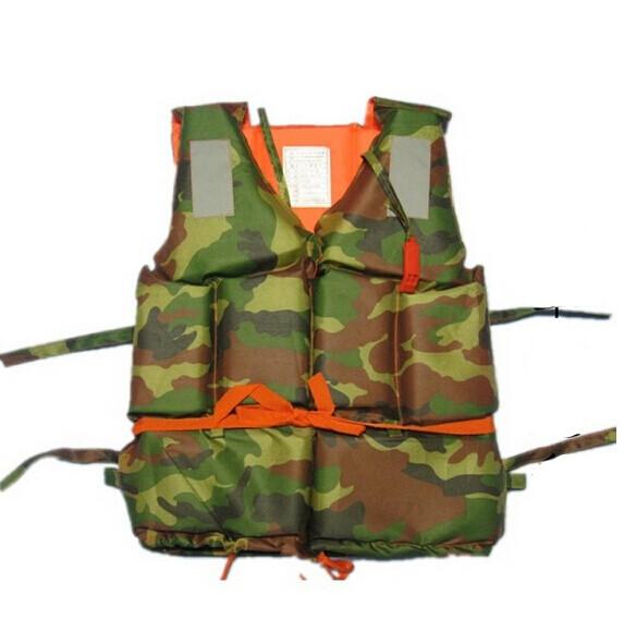 300g Adult Foam Flotation Swimming Life Jacket Vest With Whistle Boating Swimming Safety Life Jacket,Camouflage(China (Mainland))