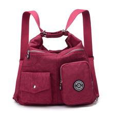 New Women Bag Double Shoulder Bag Designer Handbags High Quality Nylon Female Handbag bolsas sac a main(China (Mainland))