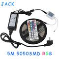 X20 DHL RGB 5M 300 Leds SMD5050 Led Strip light Waterproof lighting 44 Keys IR Remote