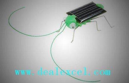 10 xMini Solar Grasshopper for FUN /Children/ Play/ Gift