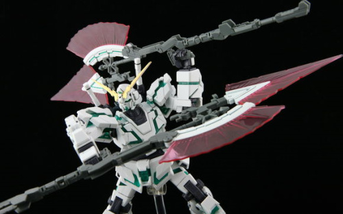 In-Stock Free shipping / Made in China HJ Appendix HGUC 1/144 Unicorn change piece HYPER BEAM JAVELIN / Assembled Models(China (Mainland))