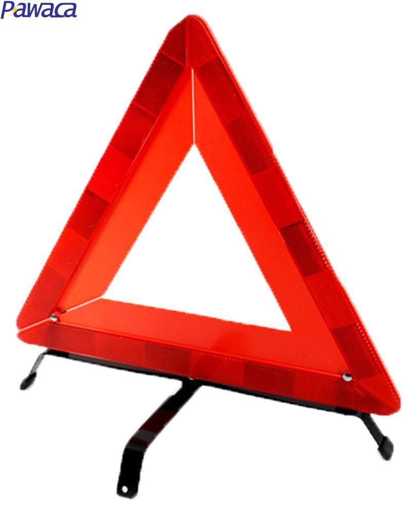 Pawaca Car Foldable Emergency Reflective Warning Triangle (Red)(China (Mainland))