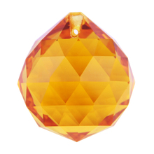 240 pcs/lot  20mm   Amber  Glass Crystal Prisms Pendants Chandeliers Glass K9 Suncatchers  For Events(China (Mainland))