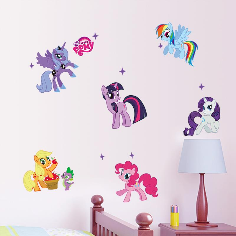 Creative wall stickers #18 My Little Pony