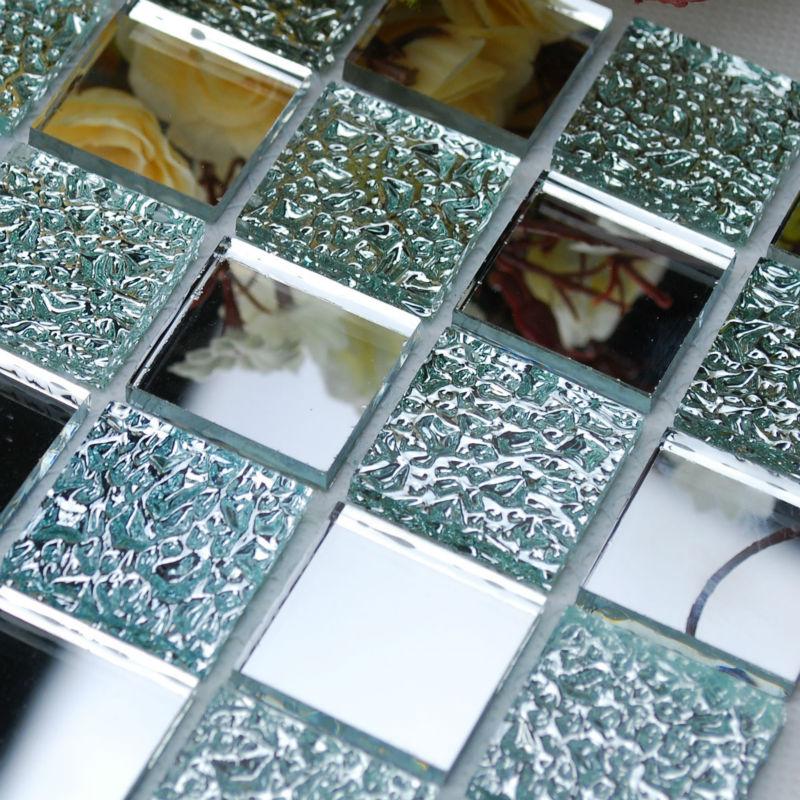 Cristal Mosaico Backsplash Cozinha Arte Folha Do Espelho