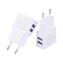 EU 5V USB Adapter Mobile Phone Wall Charger Device Micro Data Charging For iPhone 4 5 6 iPad Samsung 1Pcs(China (Mainland))