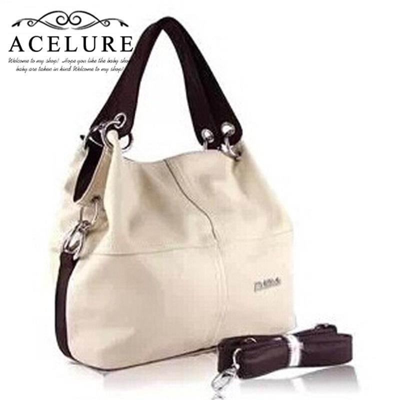 New 2016 Retro Vintage Women s Leather Handbag Tote Trendy Shoulder Bags Messenger Bag Cross body