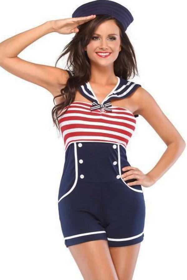 Halloween Cosplay Sea Military Uniform Sassy Sailor Dress Costume Women Fantasia Sexual Sailor Cosplay Disfraces Adultos 8847(China (Mainland))