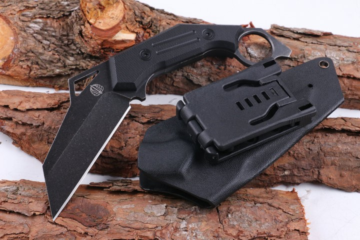 Buy High Quality D2 Blade G10 Handle Hunting Knife, Strider Karambit Tactical Fixed Knives, Camping Survival Knife. cheap
