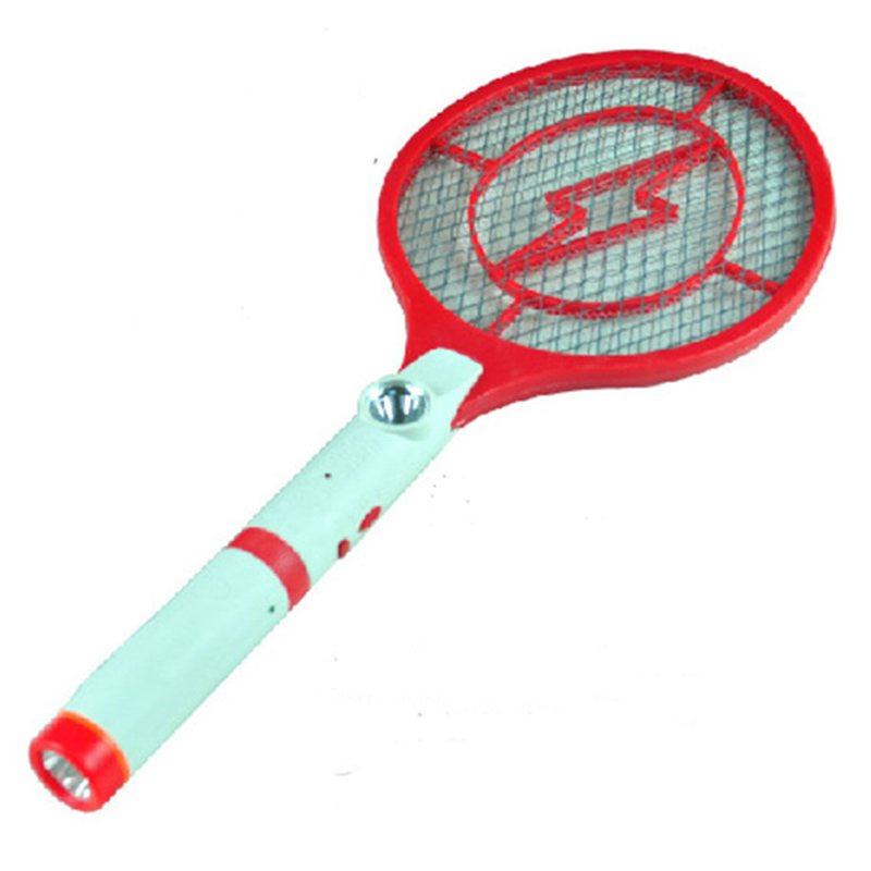 Home Garden Rechargeable Electric Swatter Insect Bug Bat Wasp Mosquito Killer Fly Racket Summer Zapper for Outdoor Camping(China (Mainland))