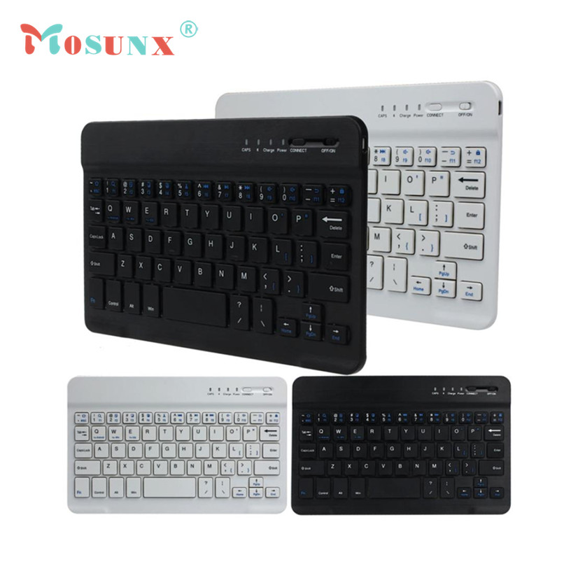 Factory Price Ultra Slim Multimedia Aluminum Wireless Bluetooth Keyboard For IOS Android Tablet PC Windows for iPad mini(China (Mainland))