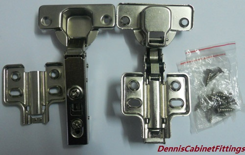 4PCS/LOT European Hydraulic Smooth Soft Close Kitchen Furniture Cupboard Cabinet Hinge Hinges(China (Mainland))