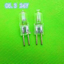 Machine work lights beads G5.3 24V 10W / 20W / 35W / 50W / 75W / 100W / 150W halogen bulb dedicated lathe  tools 10pcs / lot (China (Mainland))