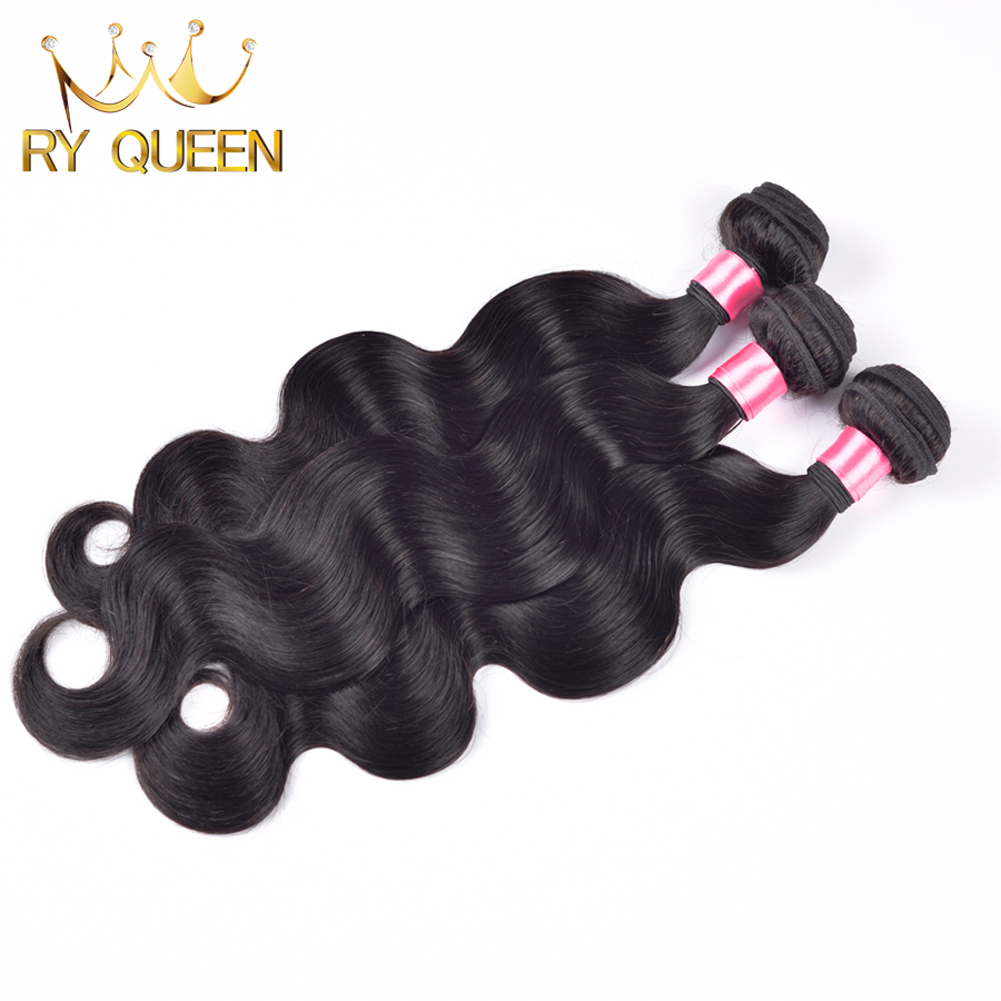 Queen hair products malaysian body wave 3pcs/lot malaysian virgin hair,8
