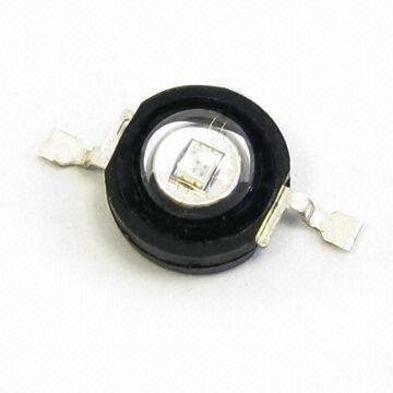 1W High power LED with 3.0 to 3.8V Forward Voltage/350ma;50-70lm;520-530nm;green color