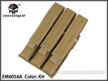 Buy MP7 Molle Triple Mag Pouch Magazine pouch Emerson Tactical pouch Khaki EM6056A KH for $16.63 in AliExpress store