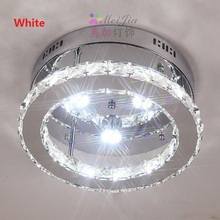 Modern 20/32CM LED Crystal Ceiling Lights Kitchen Light Ceiling Corridors Aisle Ceiling Lamp Fixtures For Living Room Plafonnier