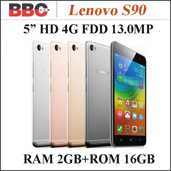 Мобильный телефон Lenovo S90 Qualcomm 5 1280 x 720 4.4.4 13 2 4G LTE мобильный телефон lenovo 4g td fdd lte lenovo s90 4 4 msm8916 1g 16g rom 1280 x 720 13 5 0 ips