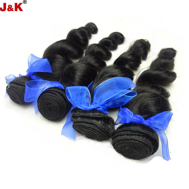 6A Malaysian Virgin Hair Unprocessed Malaysian Loose Wave Natural Color  Virgin Malaysian Hair Human Hair Weave 3pcs/lot
