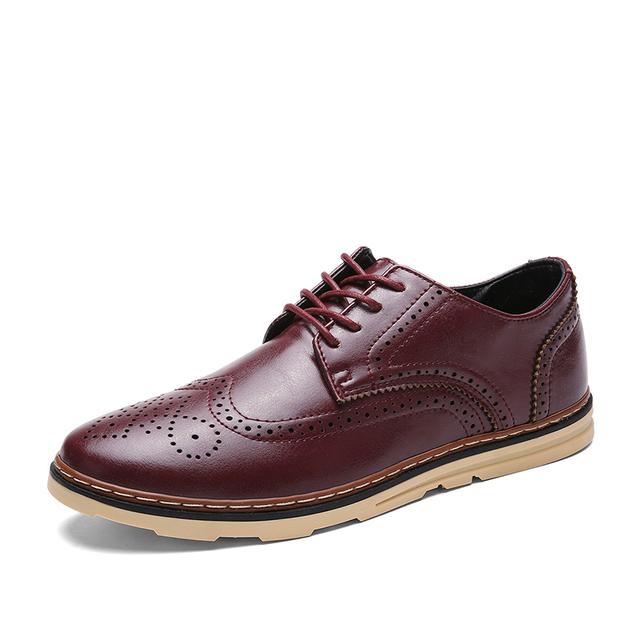 2016 новый конструктор оксфорды обувь для мужчин торжественная одежда оксфорды полный ...