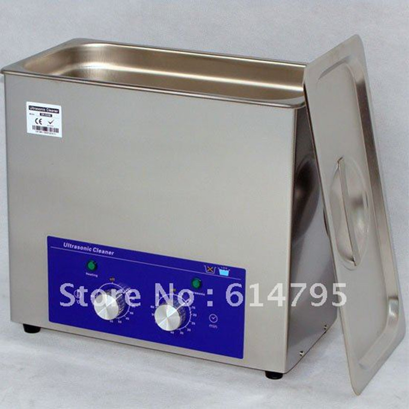 Dental ultrasonic cleaner with timer and heated DR-MH60 6L stainless steel Brand Derui<br><br>Aliexpress