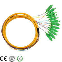 12C Cable SC/APC Pigtail-PVC-G657A-Yellow-1.5m / Optical Fiber Pigtail - Yihuihang Technology Co,ltd (Optical and Machine store-IvHub)