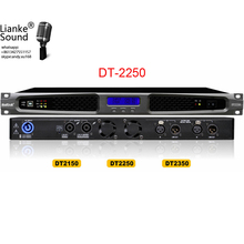 DT-2250 DSP professional power amplifier 400w@4ohms Pro Power Amp Amplifier 1u AUDIO POWER AMPLIFIER sale dj sound systems(China (Mainland))