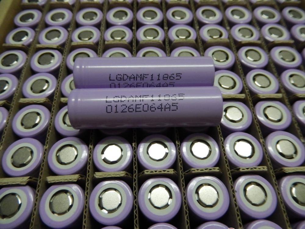 (50pcs/lot freight free) LG MF1 Chem 18650 INR18650MF1 10A discharge li-ion battery cell 2200mah INR18650MF1<br><br>Aliexpress