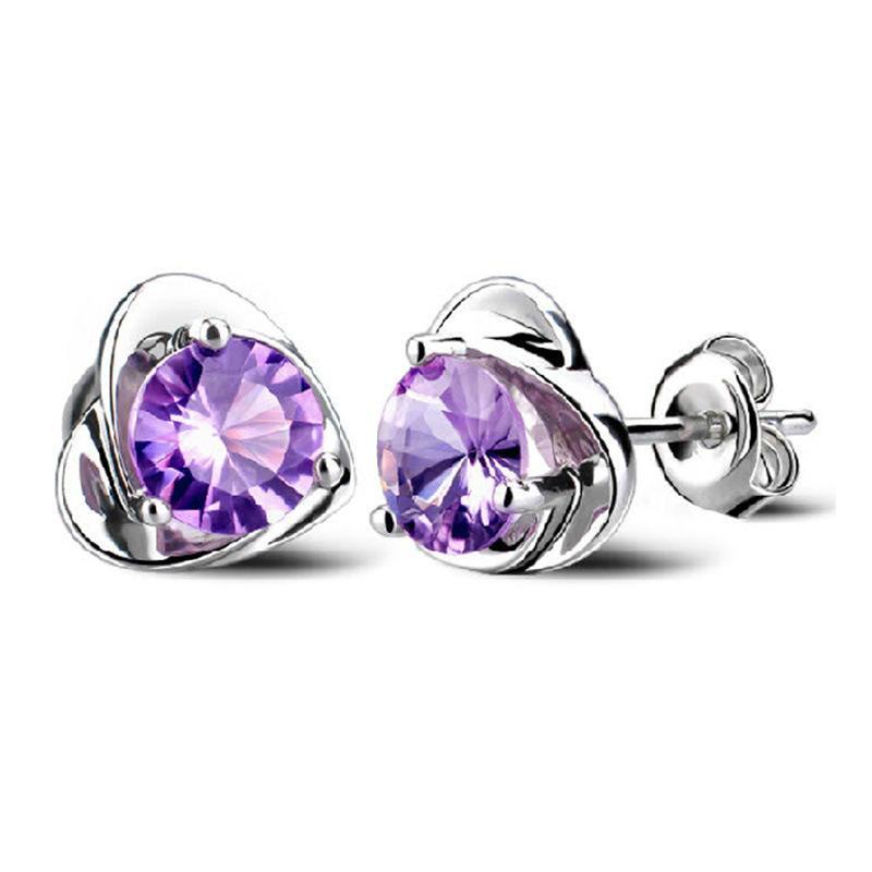 Heart Earrings Studs Heart Shaped Stud Earrings