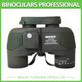 Waterproof HD Ocean Marine Floating Boat Binoculars Telescope With Interal Compass Rangefinder Reticle Binoculars 10x50