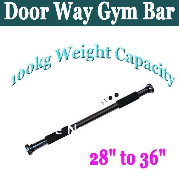 Home Fitness Equipment Gym Door Indoor Horizontal Bar Door Pull Up Chin Up Bar Free Shipping
