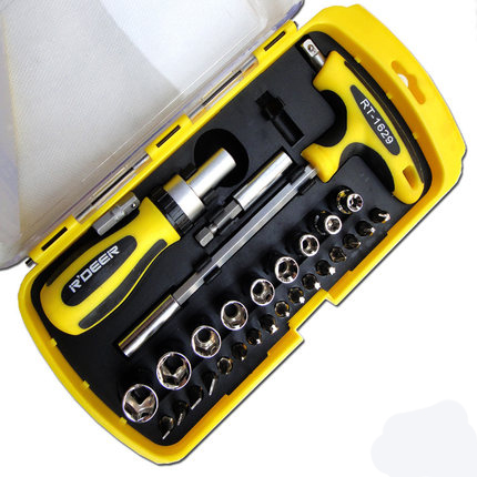 29 sets of auto repair tools screwdriver ratchet screwdriver sets Screwdriver T-type wrenches CR-V 6150(China (Mainland))