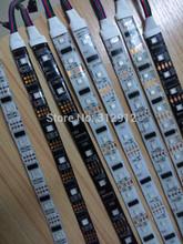 IP65 LPD8806 addressable LED digital strip;32/48/52/60leds/m;DC5V input;waterproof silicon coating;white black pcb - SHENZHEN RITA LIGHTING LTD store