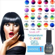 Temperature change nail gel nail polish gel varnish set for nail gel beauty magnetic  gel lacquer vernis uv esmalte permanente(China (Mainland))