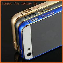 Dual Color Metal Phone Bumper Case For Iphone 5 5S No Screw Ultra Thin Aluminum Frame Slim Case For Apple iPhone SE Bumper(China (Mainland))