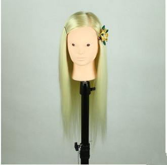 Free Shipping!!Top Level Training Mannequin Head With Hair Mannequin Head With Hair Manufacturer In Guangzhou(China (Mainland))