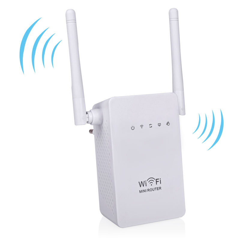 Mini Wifi Repeater 300Mbps Wireless Wifi Router 802.11 b/g/n Wireless-N Network Wi-Fi Routers Signal Booster Roteador 6pcs/lot(China (Mainland))