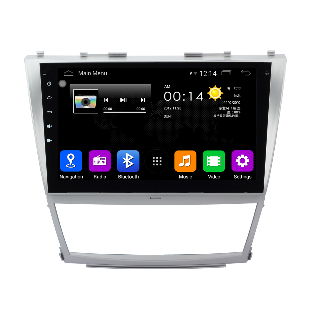 """1024X600 Quad Core 10.1"""" Android 4.4.4 Car Stereo For Toyota Camry 2006 2007 2008 2009 2010 2011 Auto Radio RDS GPS Navigation(China (Mainland))"""