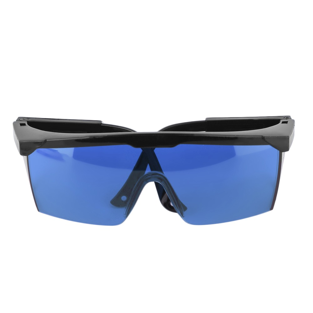 Protection Goggles Laser Safety Glasses Green Blue Red Eye Spectacles Protective Eyewear Blue Color(China (Mainland))