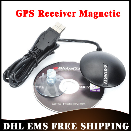 Free DHL Shipping 10pcs/lot GlobalSat BU-353S4 USB GPS Receiver SiRF Star IV with Cable G Mouse Wholesale(China (Mainland))