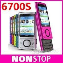 6700S Original Nokia 6700S Bluetooth FM JAVA 5MP Unlock Cell Phones(China (Mainland))