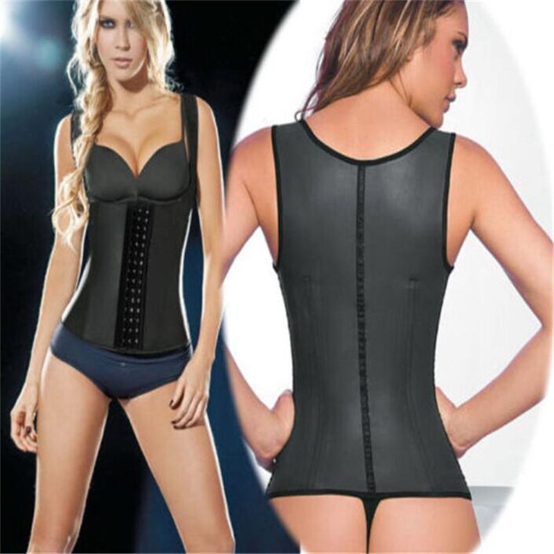 Latex Waiste Trainer Waist Cincher Faja Postpartum Corset Vest Plus Size Womens Workout Trainers - Pupated Amy's Store store