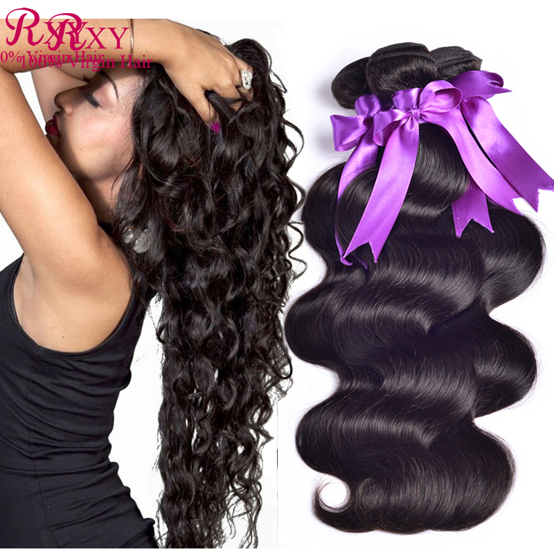 Malaysian Virgin Hair Body Wave 3 bundle deals 8A Unprocessed Human Weave style - Xuchang RXY Industrial & Trade CO.,ltd store
