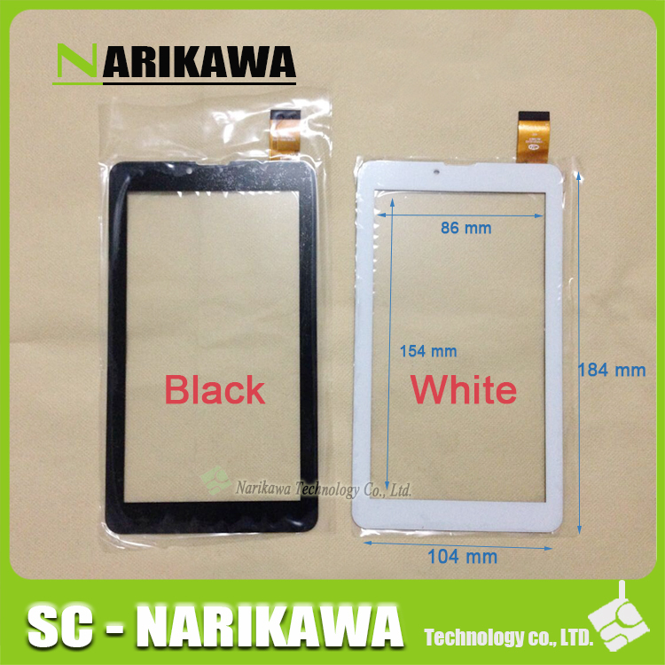 """New Touch screen Digitizer 7"""" inch Supra M722G/ M723G/ M725G/ M727G Touch panel Glass Sensor replacement Free Shipping(China (Mainland))"""